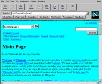 Netscape Navigator - Netscape Navigator 1.22