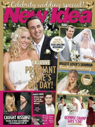 New Idea - Cover of magazine from April 2010.