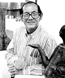 Ng Eng Teng Singaporean sculptor