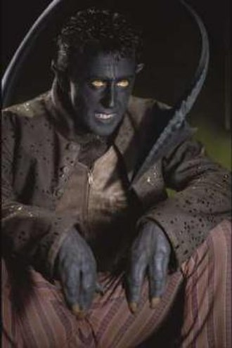 Nightcrawler (comics) - Alan Cumming as Nightcrawler in the film X2.