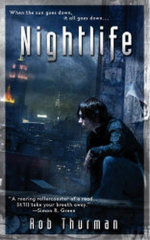 Cal Leandros series - Cover for Nightlife, the first book in the series