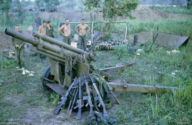 No 6 Gun FSB Coral 13 May 1968 (AWM P01769)