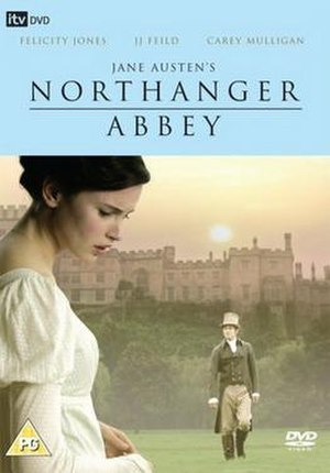 Northanger Abbey (2007 film) - Region 2 DVD cover