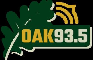WRLY-LP - Image: Oak 93.5 Logo