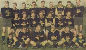 Oakleigh Football Club - The 1950 premiership side
