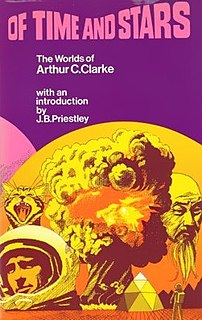 <i>Of Time and Stars</i> book by Arthur C. Clarke