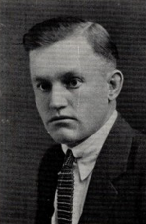 P. E. Shotwell - Shotwell pictured in The Bronco 1925, Simmons yearbook