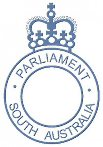 Parliament of South Australia - Image: Parliament of South Australia emblem