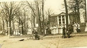Peace College Main Building - Main Building in 1920