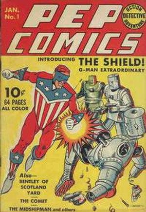 Pep Comics - Image: Pep Comics 1