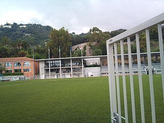Rapid de Menton - Picture of Home ground Stade Lucein Rhein
