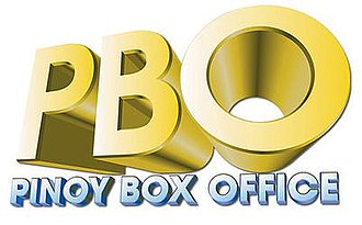 Pinoy Box Office - former PBO logo used from August 1, 2003 to February 28, 2015