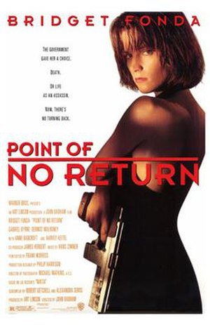 Point of No Return (1993 film) - U.S. release poster