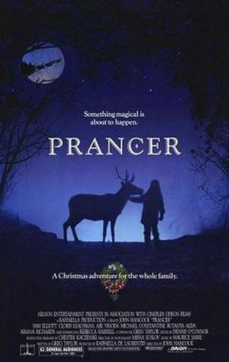 Prancer (film) - Theatrical release poster