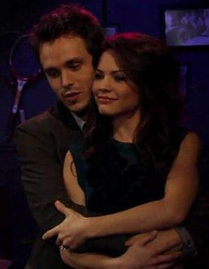 Lucky Spencer and Elizabeth Webber - Jonathan Jackson and Rebecca Herbst as Lucky and Elizabeth, December 2009