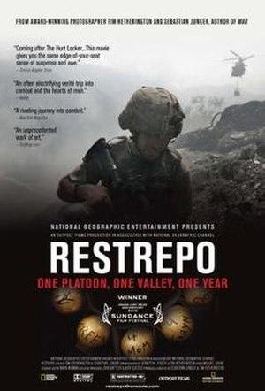 Restrepo (film) - Image: Restrepo poster