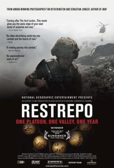 Picture of a movie: Restrepo