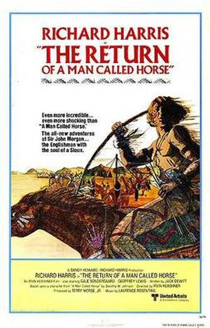 The Return of a Man Called Horse - Original theatrical poster