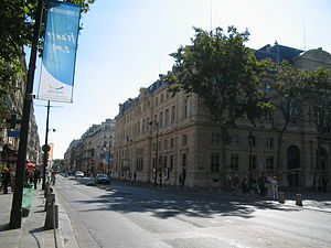 Rue de Rivoli - Rue de Rivoli as it runs through Le Marais, in Paris' 4th arrondissement