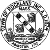 Official seal of Rockland, Massachusetts