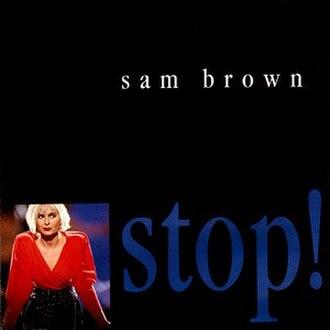Stop! (Sam Brown song) - Image: Sam Brown Stop! (CD)