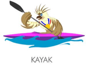 Canoeing at the 2005 Southeast Asian Games - Canoe and Kayak at the 2005 Southeast Asian Games logo