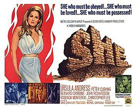 1965 Hammer Films poster for