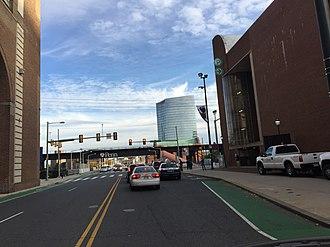 South Street (Philadelphia) - South Street in University City near the train station