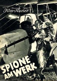 <i>Spies at Work</i> 1933 film