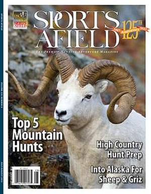 Sports Afield - A 2012 Sports Afield magazine cover.