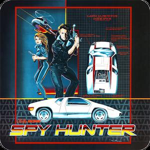 Spy Hunter - Arcade cabinet side art