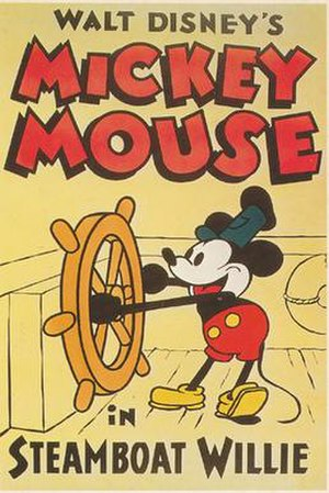 Steamboat Willie - Image: Steamboat Willie