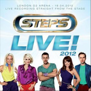 Live! 2012 - Image: Steps Live! 2012
