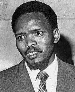 Steve Biko South African anti-apartheid activist