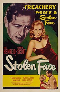 <i>Stolen Face</i> 1952 film by Terence Fisher