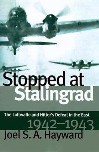 Stopped at Stalingrad - Cover of the first edition