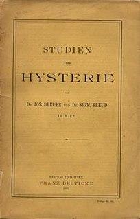 <i>Studies on Hysteria</i> book by Sigmund Freud