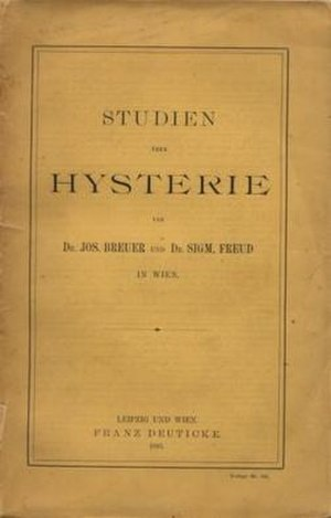 Studies on Hysteria - Cover of the German edition