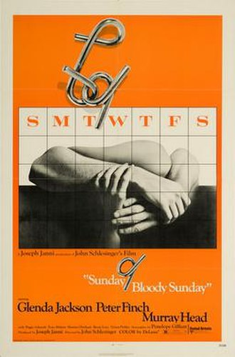 Sunday Bloody Sunday (film) - Theatrical release poster