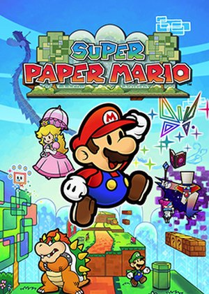 Super Paper Mario - North American box art