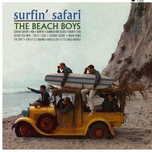 Surfin' Safari - Image: Surfin'Safari Cover