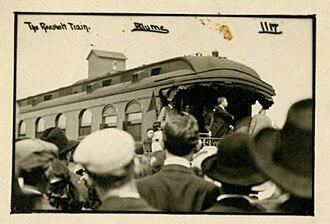 Org, Minnesota - Theodore Roosevelt speaking in Org