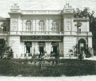 Casinò Lugano - Teatro Kursaal, closed in April 1997 (demolished in 2001)
