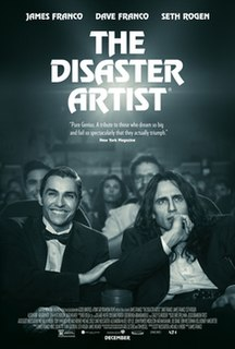<i>The Disaster Artist</i> (film) 2017 film directed by James Franco