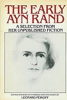 <i>The Early Ayn Rand</i> book by Ayn Rand