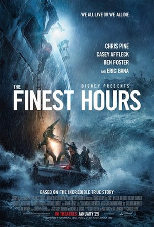 The Finest Hours (2016 film) - Theatrical release poster