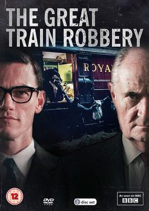 The Great Train Robbery (2013 film) - DVD cover