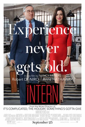 The Intern (2015 film) - Theatrical release poster