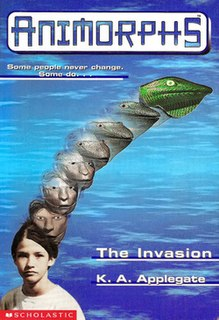 <i>Animorphs</i> science fiction young adult book series