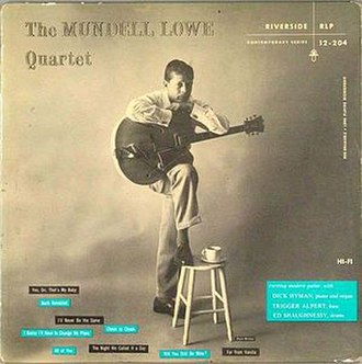 The Mundell Lowe Quartet - Image: The Mundell Lowe Quartet
